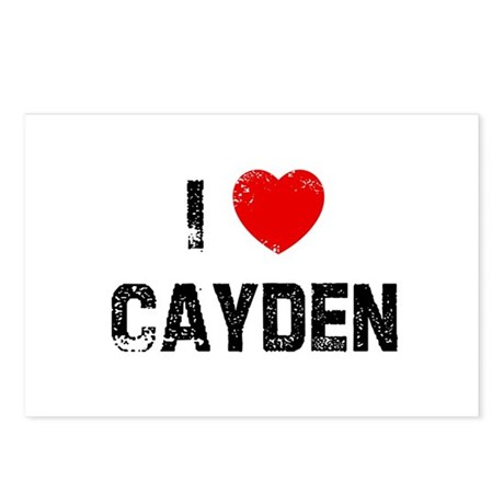I * Cayden Postcards (Package of 8)