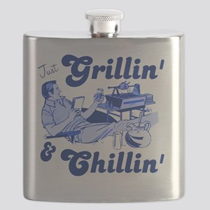 Just Grilling and Chilling Flask