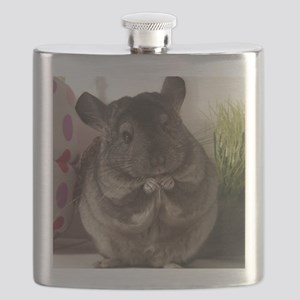 lovely chinchilla Flask