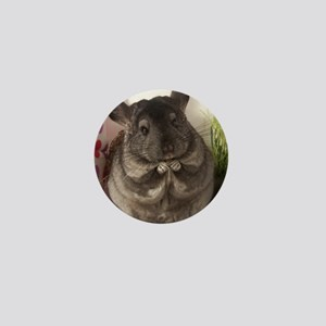 lovely chinchilla Mini Button