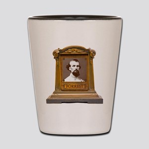Nathan B. Forrest Antique Memorial Shot Glass
