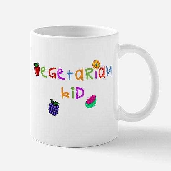 Vegetarian Kid Mug