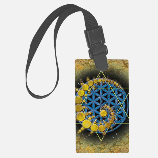 Divine Awakening Card Luggage Tag