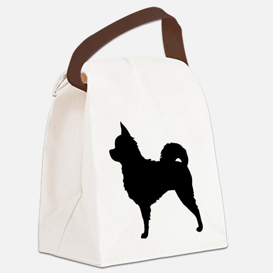chihuahuabizlong Canvas Lunch Bag
