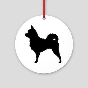 chihuahuabizlong Round Ornament