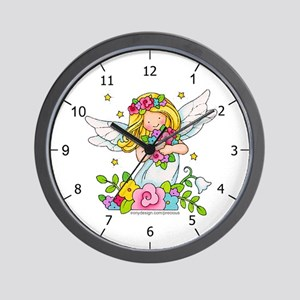 Angel Child Wall Clock