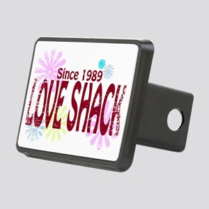 Love Shack Rectangular Hitch Cover