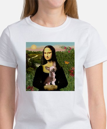 Mona Lisa Chinese Crested T-Shirt