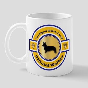 Corgi Walker Mug