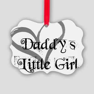 daddys little girl Picture Ornament