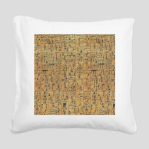 walllclock_large Square Canvas Pillow