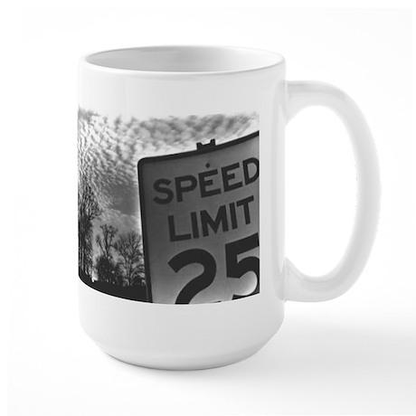 Speed Limit Large Mug