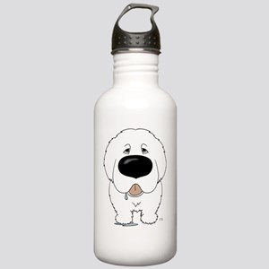 PyreneesShirtFront Stainless Water Bottle 1.0L