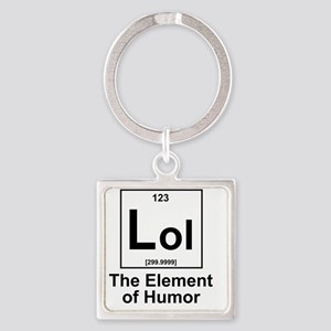 Element Lol Square Keychain