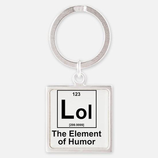 Element Lol Square Keychain