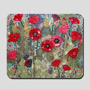 Poppy Fields Mousepad