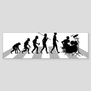 Drummer Sticker (Bumper)