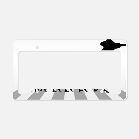 Fighter-Pilot License Plate Holder