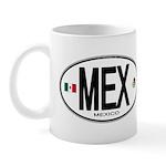 Mexico Euro-style Country Code Mug