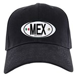Mexico Euro-style Country Code Black Cap