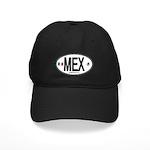 Mexico Euro-style Country Code Black Cap