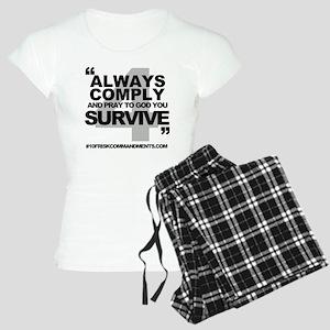 NUMBER 4 Women's Light Pajamas