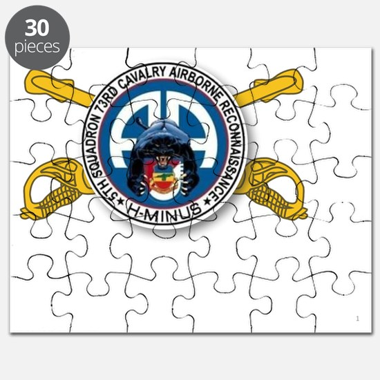 Panther Recon with Sabers Puzzle
