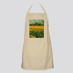 View of Arles with Irises Apron