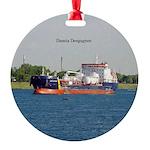 Damia Desgagnes Round Ornament