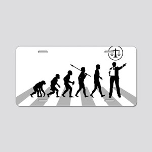 Lawyer-Attorney Aluminum License Plate