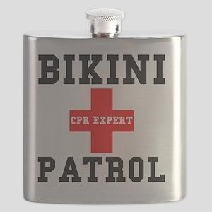 Bikini Patrol Flask