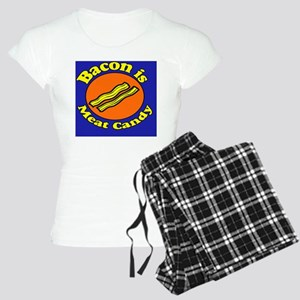 Bacon is Meat Candy Pillow  Women's Light Pajamas