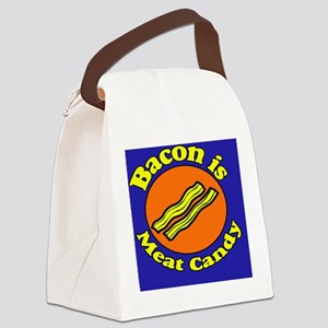 Bacon is Meat Candy Pillow Case Canvas Lunch Bag