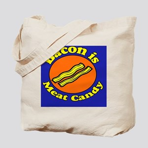 Bacon is Meat Candy Pillow Case Tote Bag