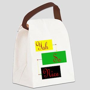 Yah So Nice Canvas Lunch Bag