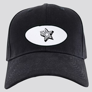 504 Black Cap with Patch