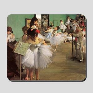 Edgar Degas Dancing Class Mousepad