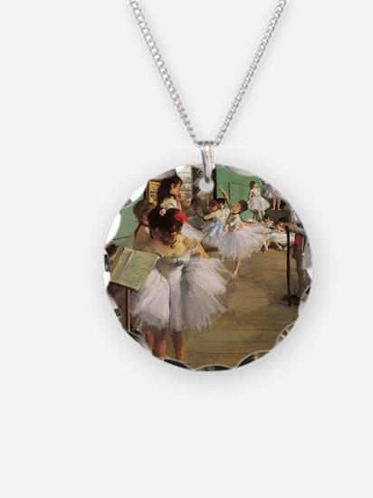 Edgar Degas Dancing Class Necklace