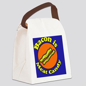 Bacon is Meat Candy Canvas Lunch Bag