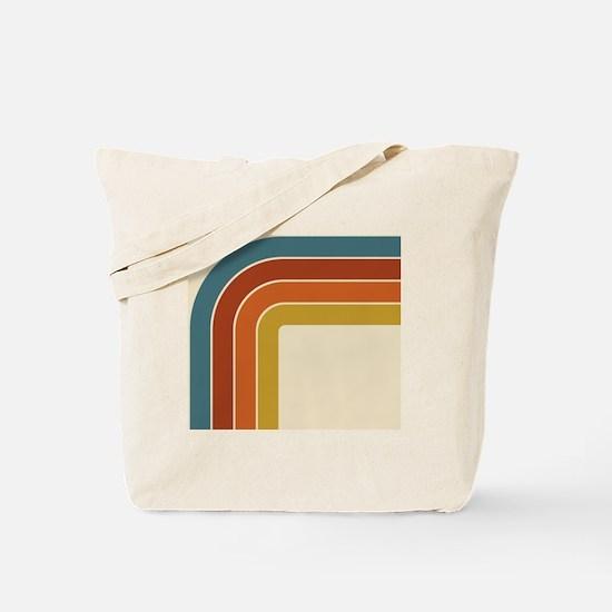 Retro Curve Tote Bag