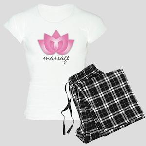Lotus Flower - Massage Women's Light Pajamas