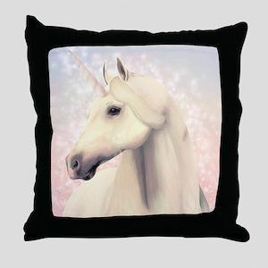 Beautiful Unicorn Throw Pillow
