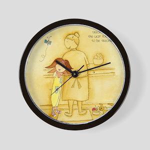 Treat others... Wall Clock