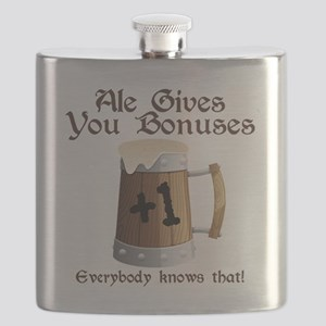 Ale Gives You Bonuses... Flask