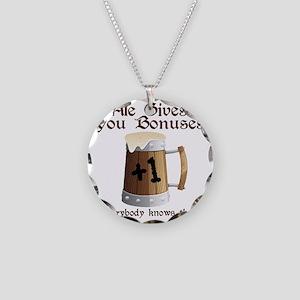 Ale Gives You Bonuses... Necklace Circle Charm