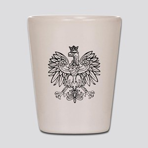 Polish Eagle Shot Glass
