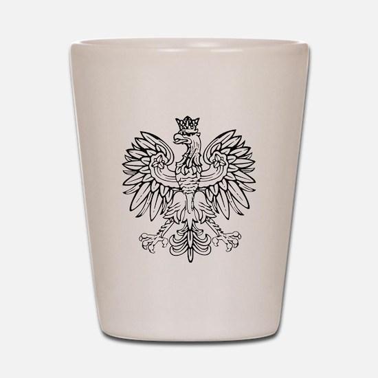 Polish Eagle Shot Glass