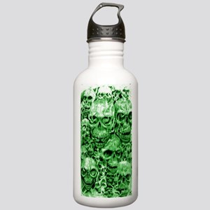 skull 67 dark green sh Stainless Water Bottle 1.0L