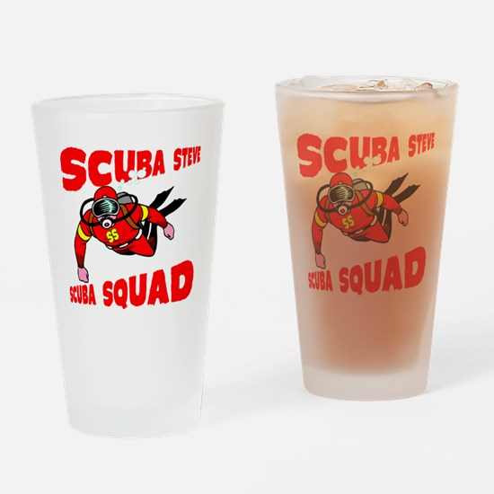 Scuba Steve Drinking Glass