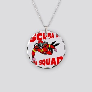 Scuba Steve Necklace Circle Charm